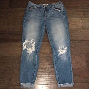 KanCan Distressed Light Jeans 13/30